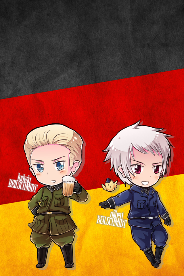 Hetalia iWallpapers   Germany and Prussia by Dreamweaver38 on 640x960