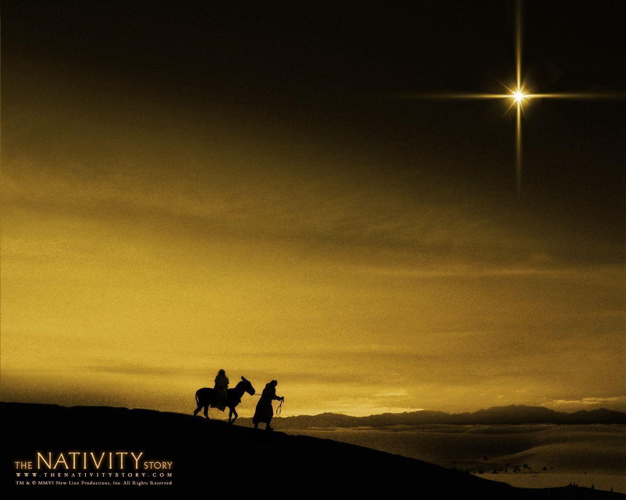 Christian Christmas Backgrounds 1280x1024