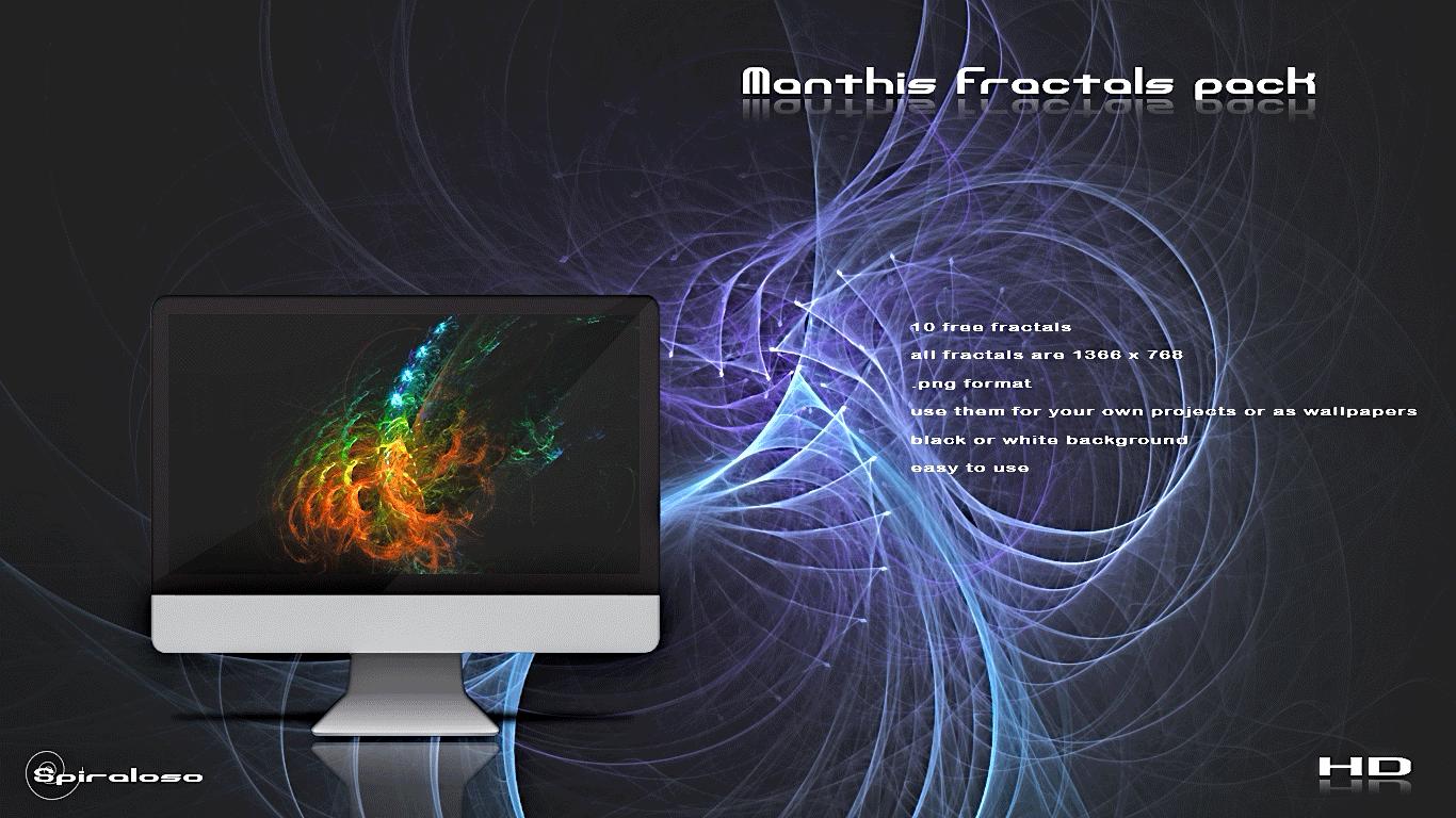 Manthis fractals pack by spiraloso 1366x768