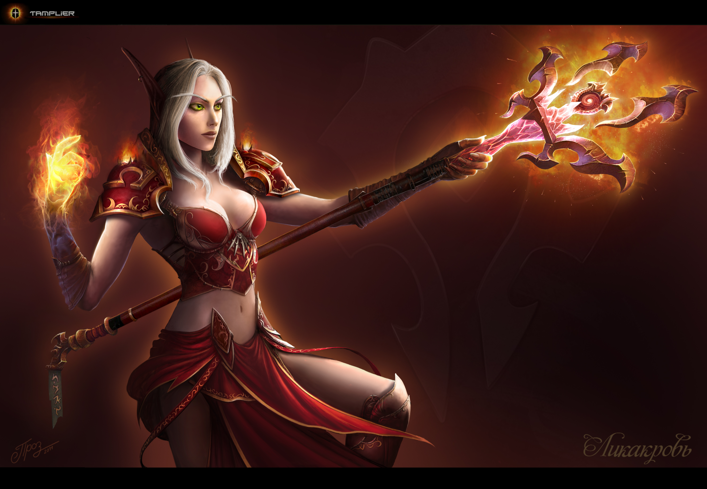 Blood Elf   Mage by TamplierPainter 3000x2075