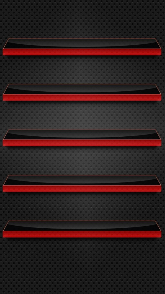 Black and Red Glass Shelves Wallpaper   iPhone Wallpapers 576x1024