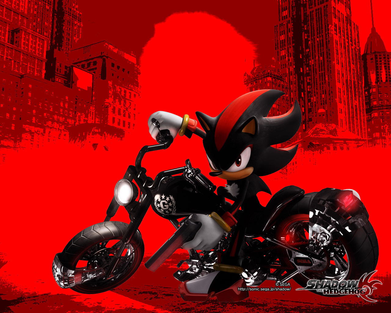 Free Download Shadow Sonic And Shadow Wallpaper 8418034