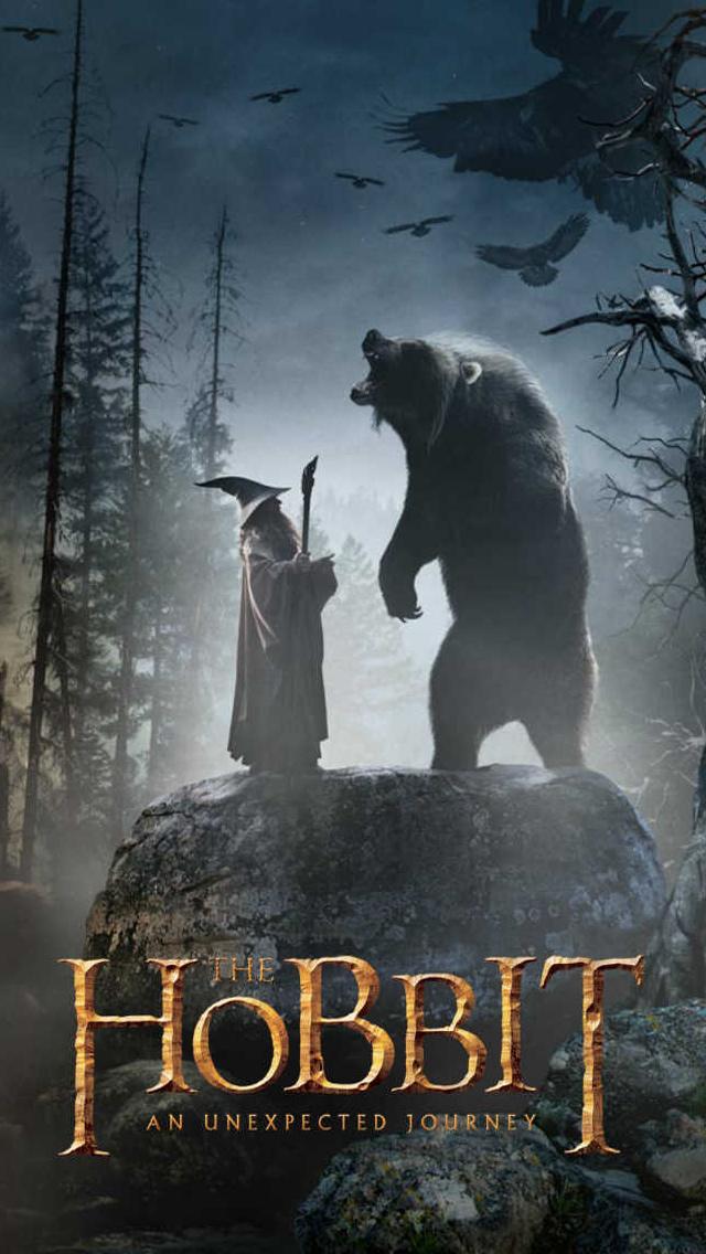 The Hobbit Movie iPhone 5 wallpaper iPhone Wallpaper 640x1136