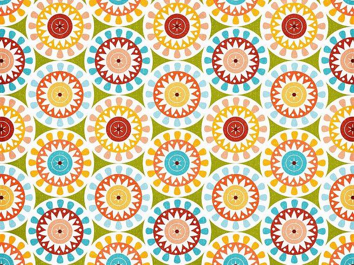 Scrapbook Art Paper Patterns Summer Fun   Art Paper Patterns Fun 700x525