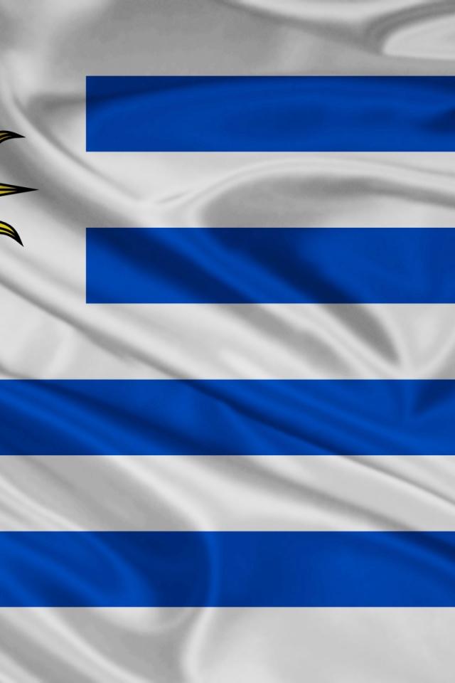 640x960 Uruguay Flag Iphone 4 wallpaper 640x960