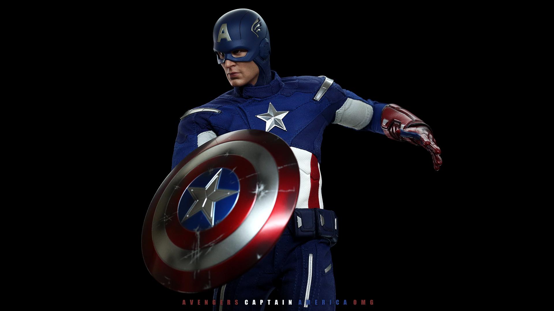 Captain America Desktop Wallpaper - WallpaperSafari
