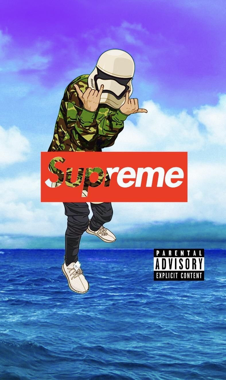 13 Supreme Cartoon Wallpapers On Wallpapersafari