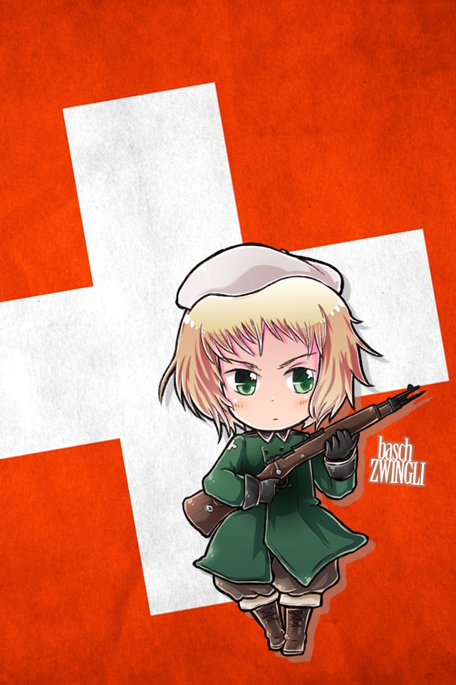 Hetalia iWallpapers   Switzerland by Dreamweaver38 640x960