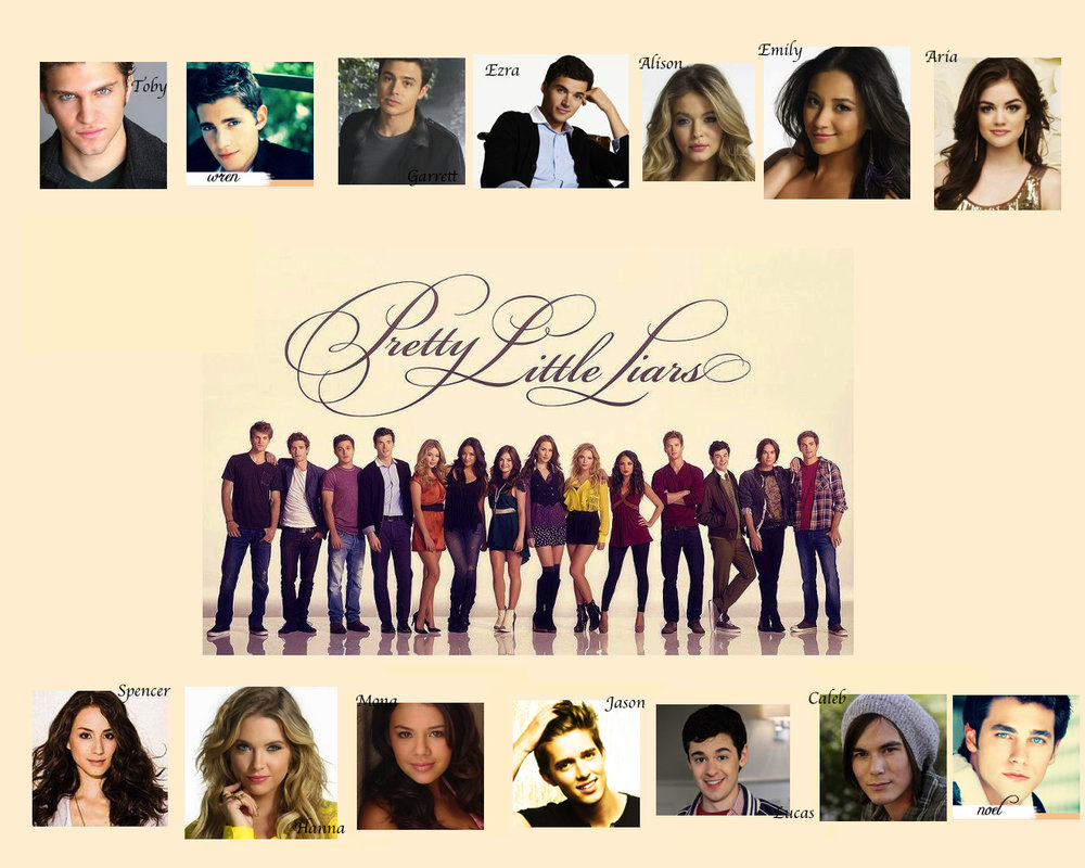 Pretty Little Liars Girls and Guys Wallpaper by nickelbackloverxoxox 1000x800