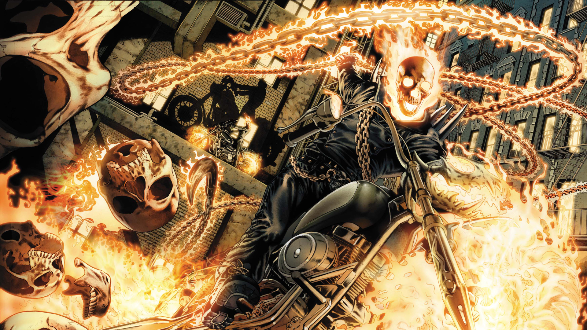 Superheroes Wallpaper Ghost Rider 1920x1080