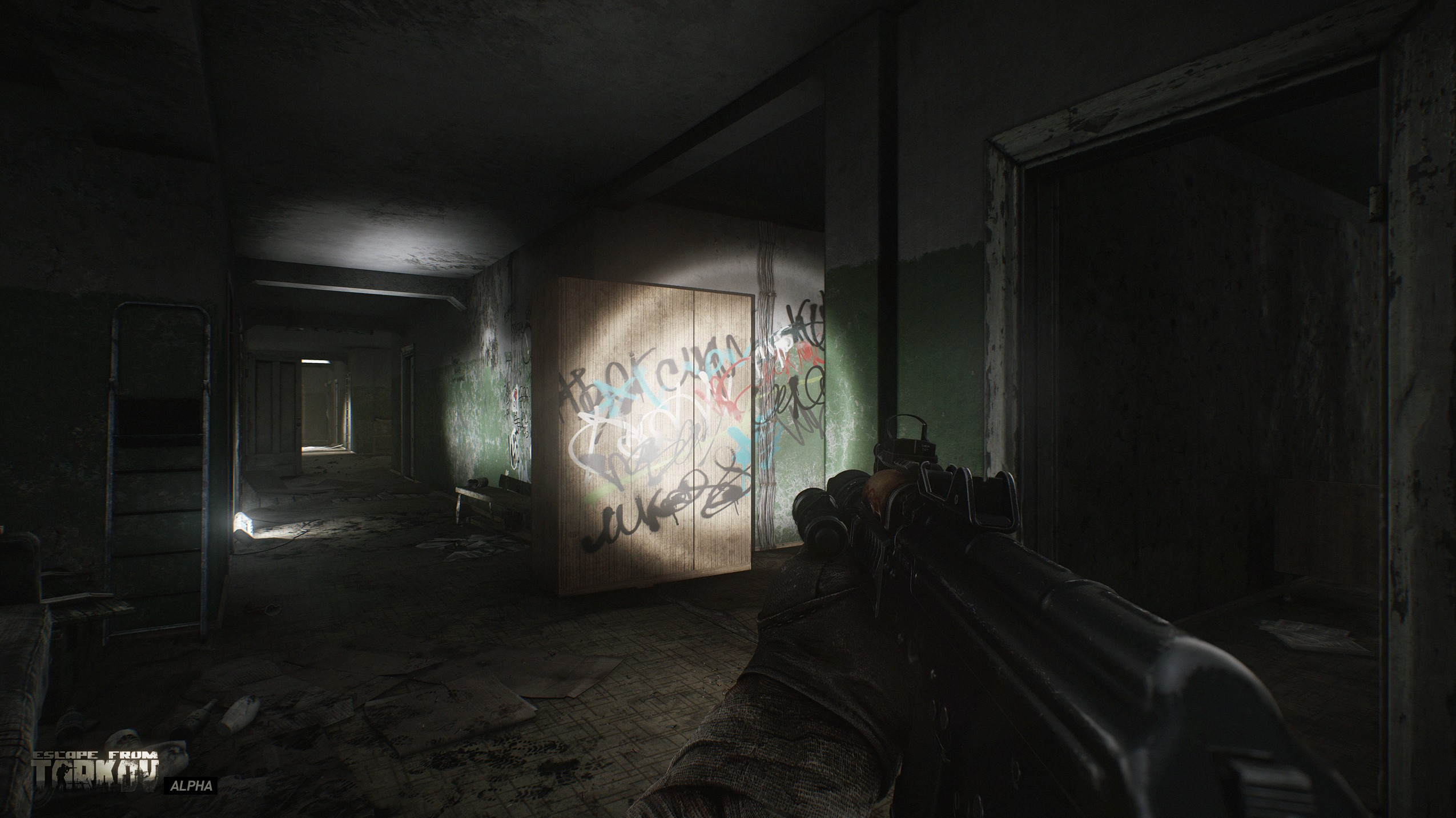 War Game Escape from Tarkov First person shooter 2550x1434