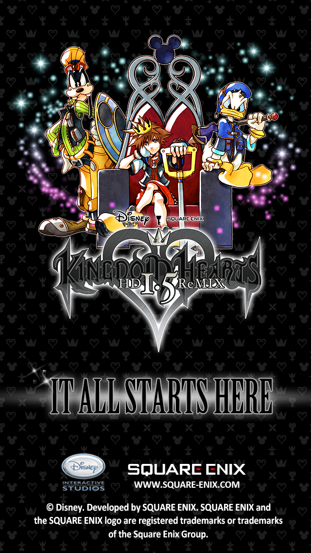 wallpapers   News   Kingdom Hearts Insider iPhone5 Wallpaper 640x1136