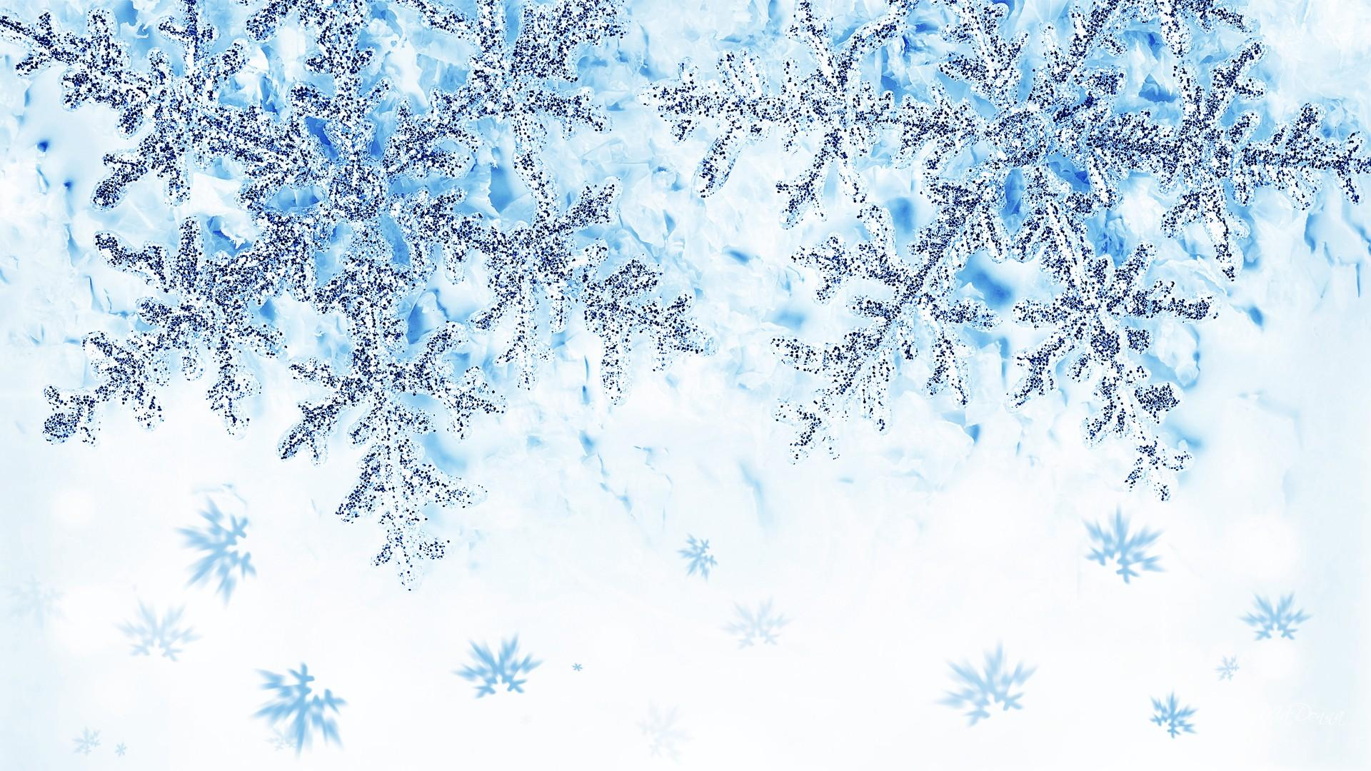 wallpaper crystal snowflake background - photo #3