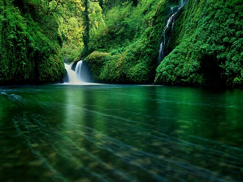 Animated waterfall wallpapers download Toptenpackcom 1024x768