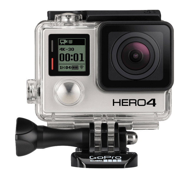 Go Pro hero 4 video camera transparent png image 624x624