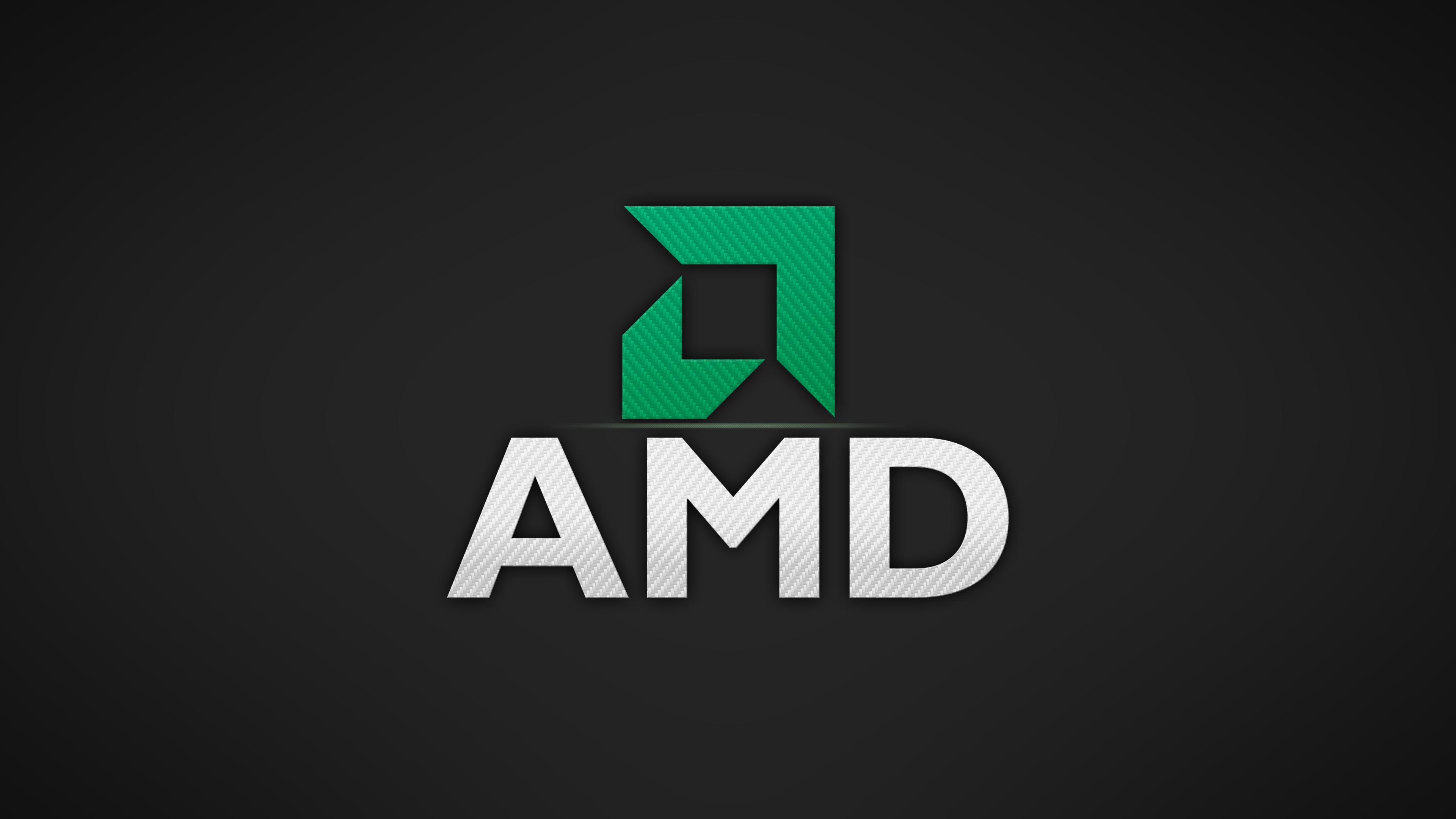 4K] carbon AMD wallpaper hope you like it 3840x2160