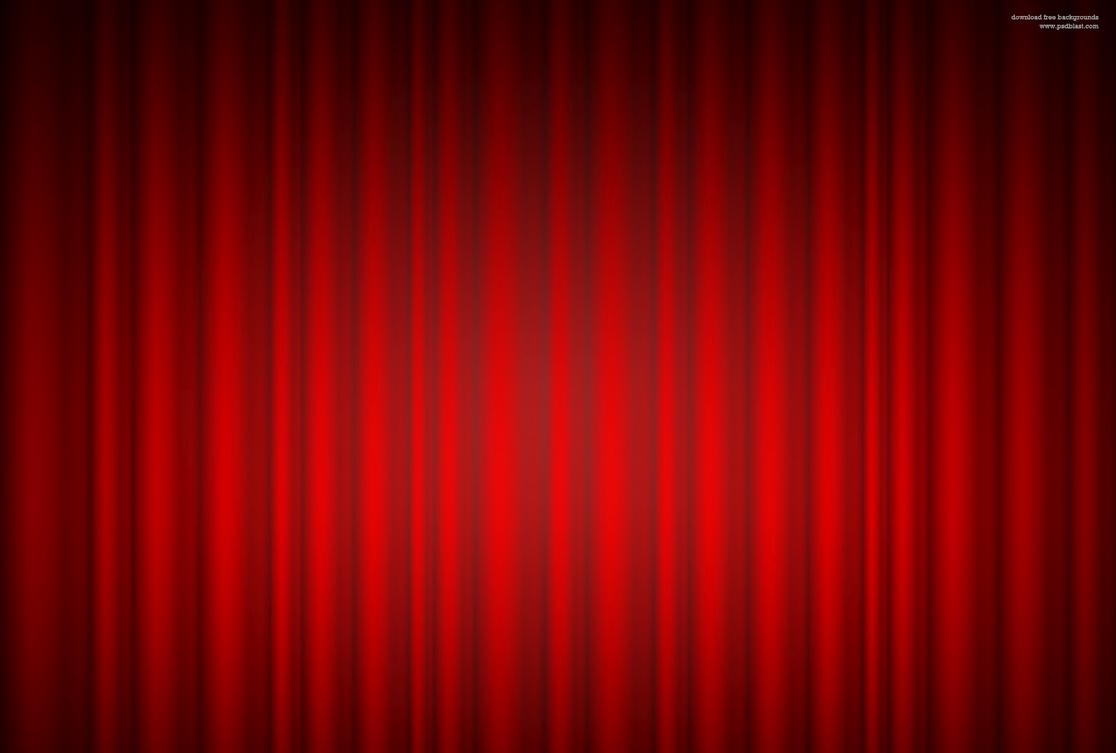 PSD Store Red curtain background 1600x1080