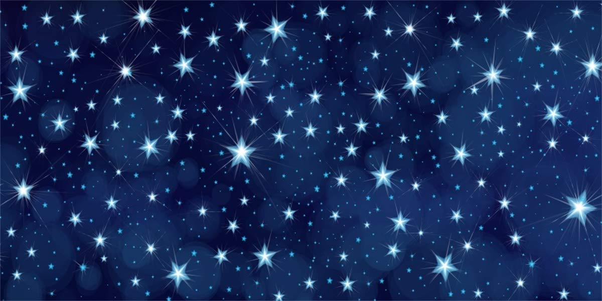 Amazoncom LFEEY 15x8ft Starry Outer Space Background Cloth 1200x600