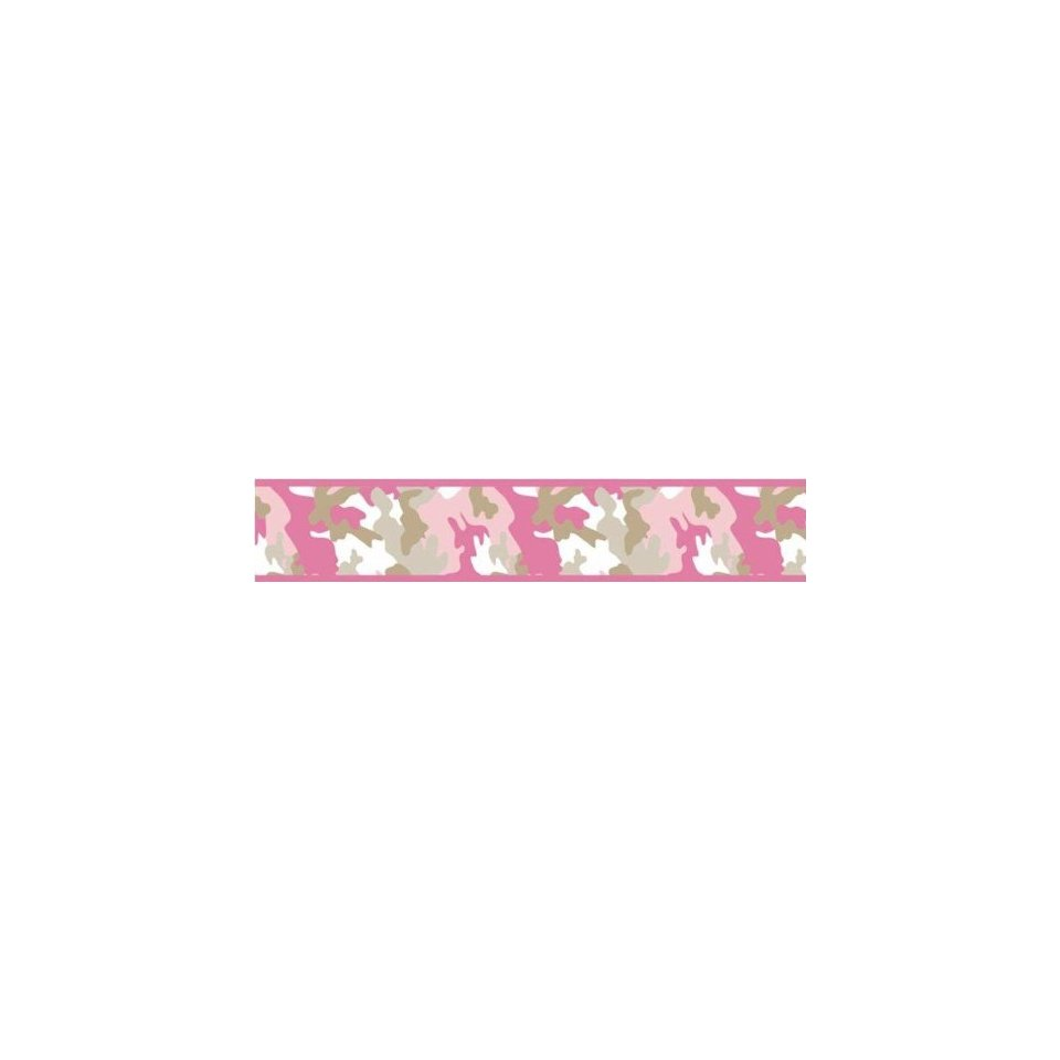 com Pink and Khaki Camo Wallpaper Border by JoJo Designs Beige Baby 960x960