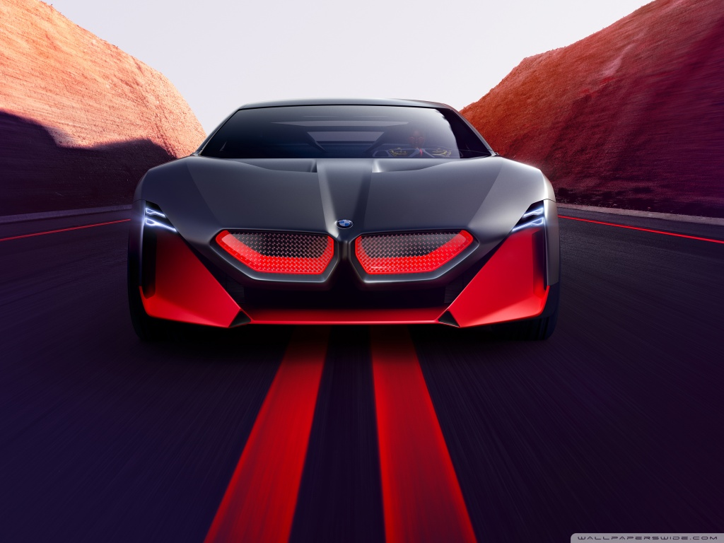 2019 BMW Vision M NEXT Sports Car Road 4K HD Desktop Wallpaper 1024x768