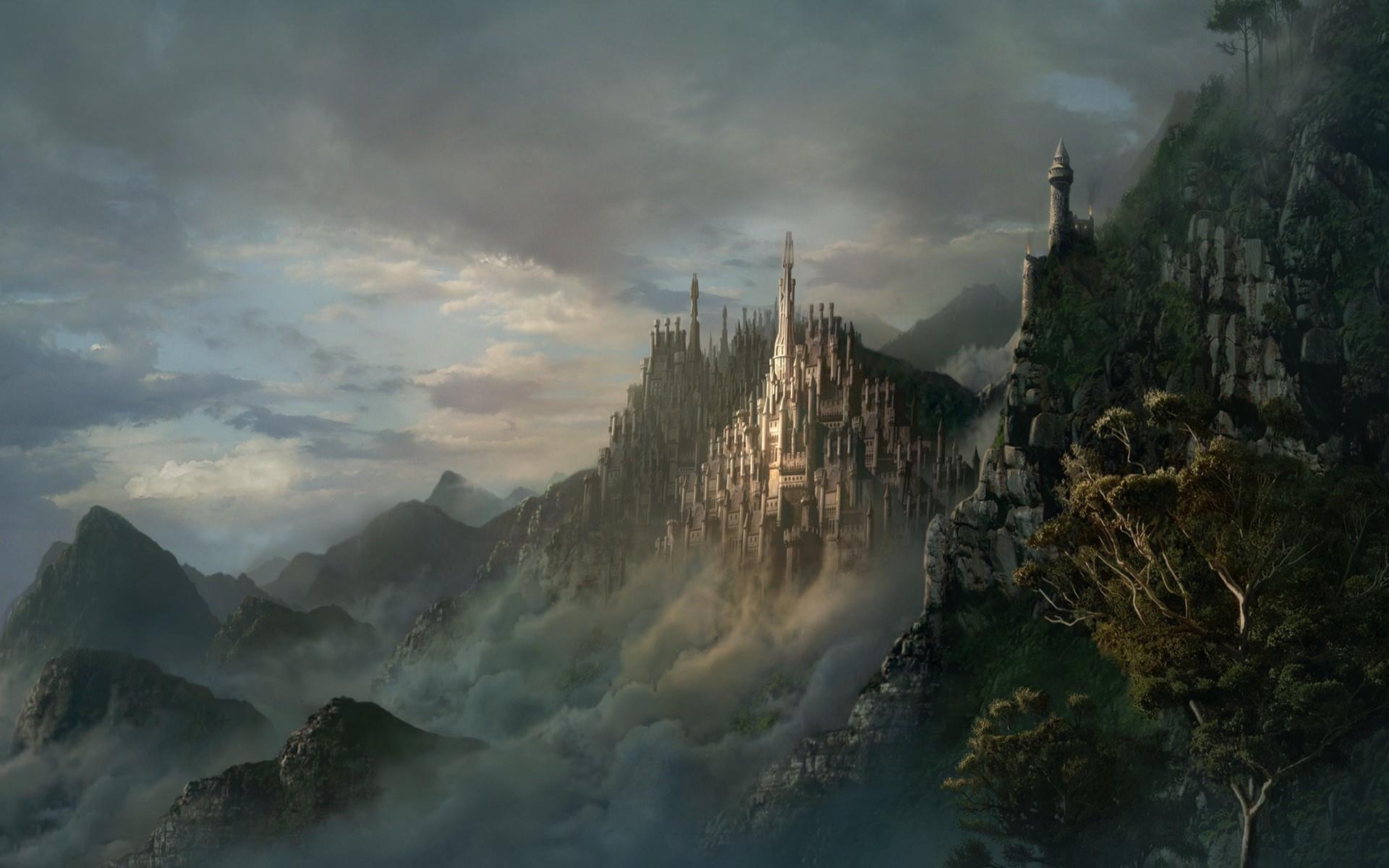 Fantasy castle Wide 1920x1200 1920x1200