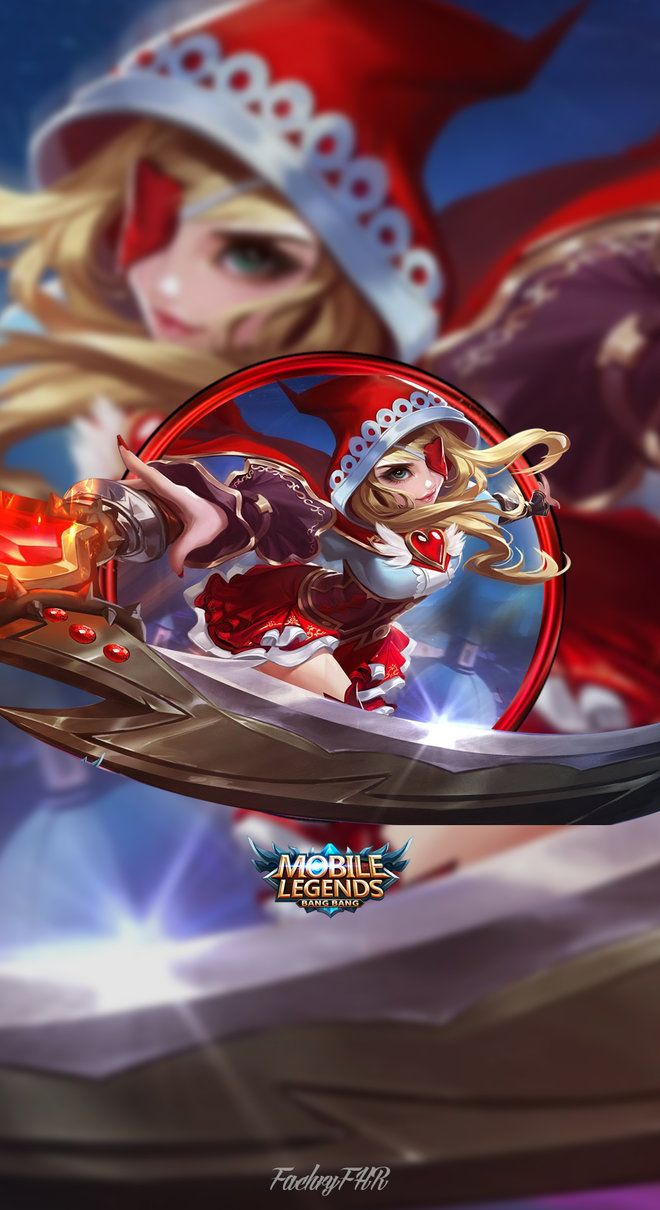 Wallpaper Phone Ruby Little Red Hood by FachriFHR Mobile Legends 660x1210