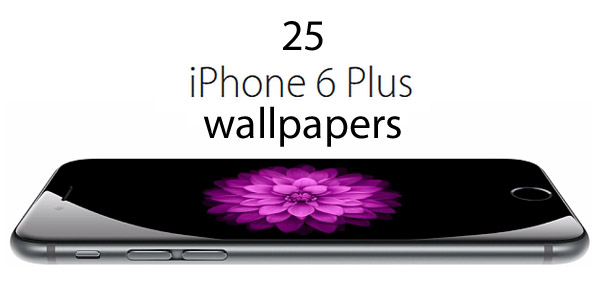 25 HD Wallpapers for iPhone 6 Plus 600x300