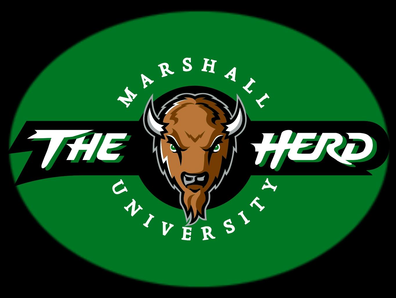 Pin Marshall Thundering Herd Logo 1365x1024