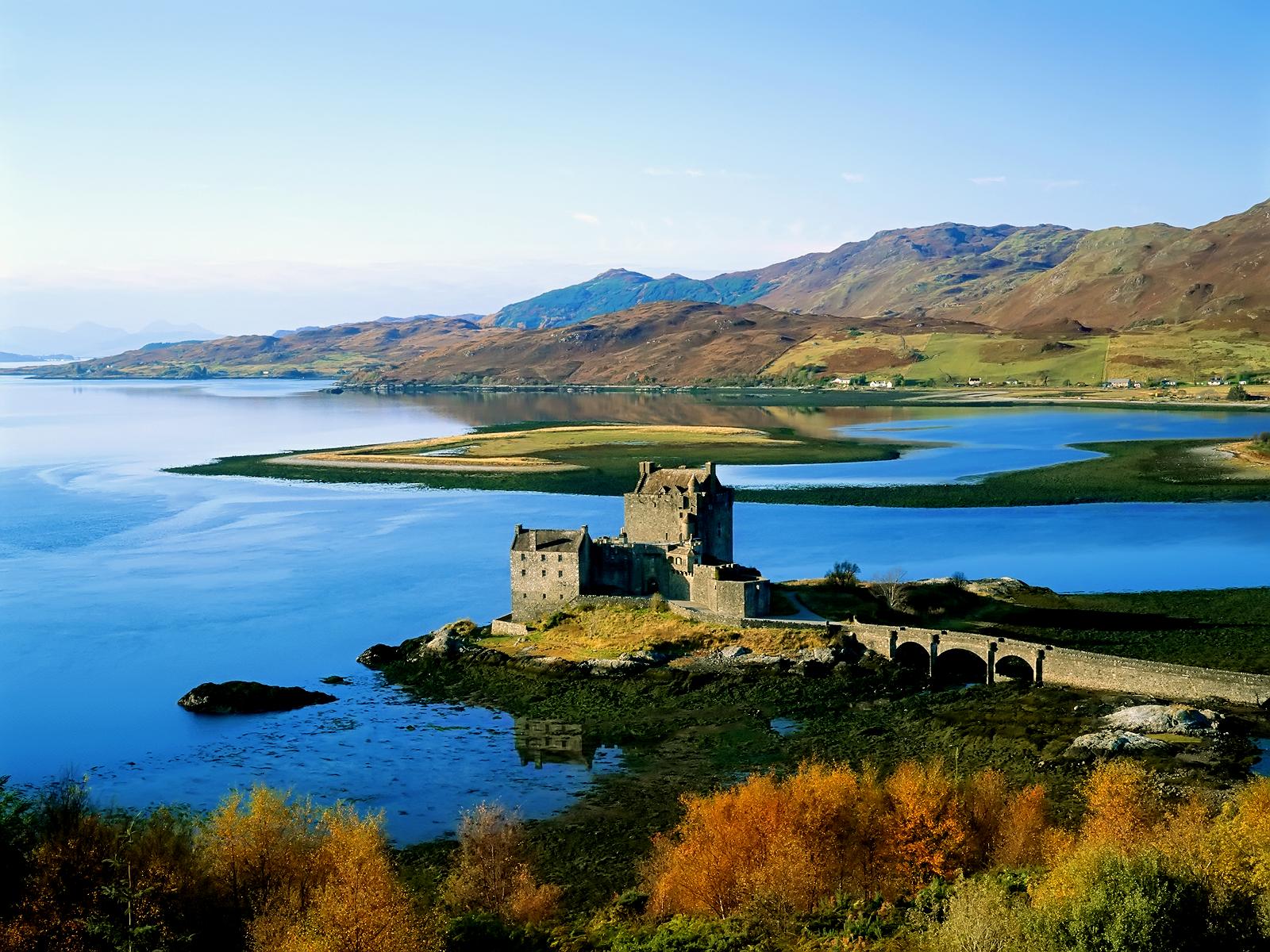 Free scottish castle wallpaper wallpapersafari - Scotland wallpaper ...