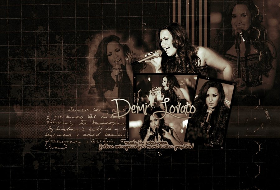 Demi Lovato Desktop wallpaper by evinegrace 900x610