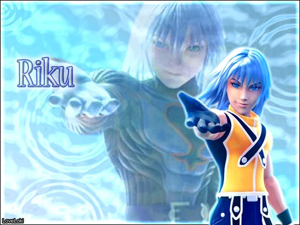 Kingdom hearts wallpaper riku
