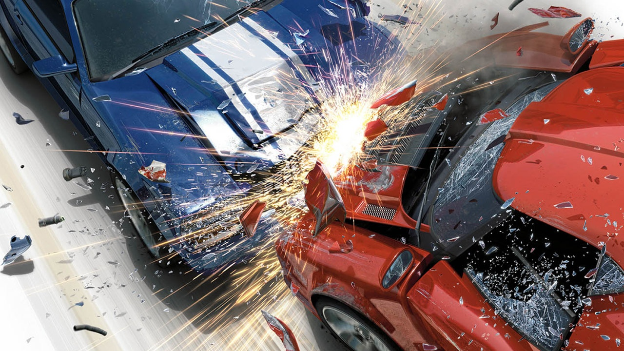 1280x720 Car Crash desktop PC and Mac wallpaper 1280x720