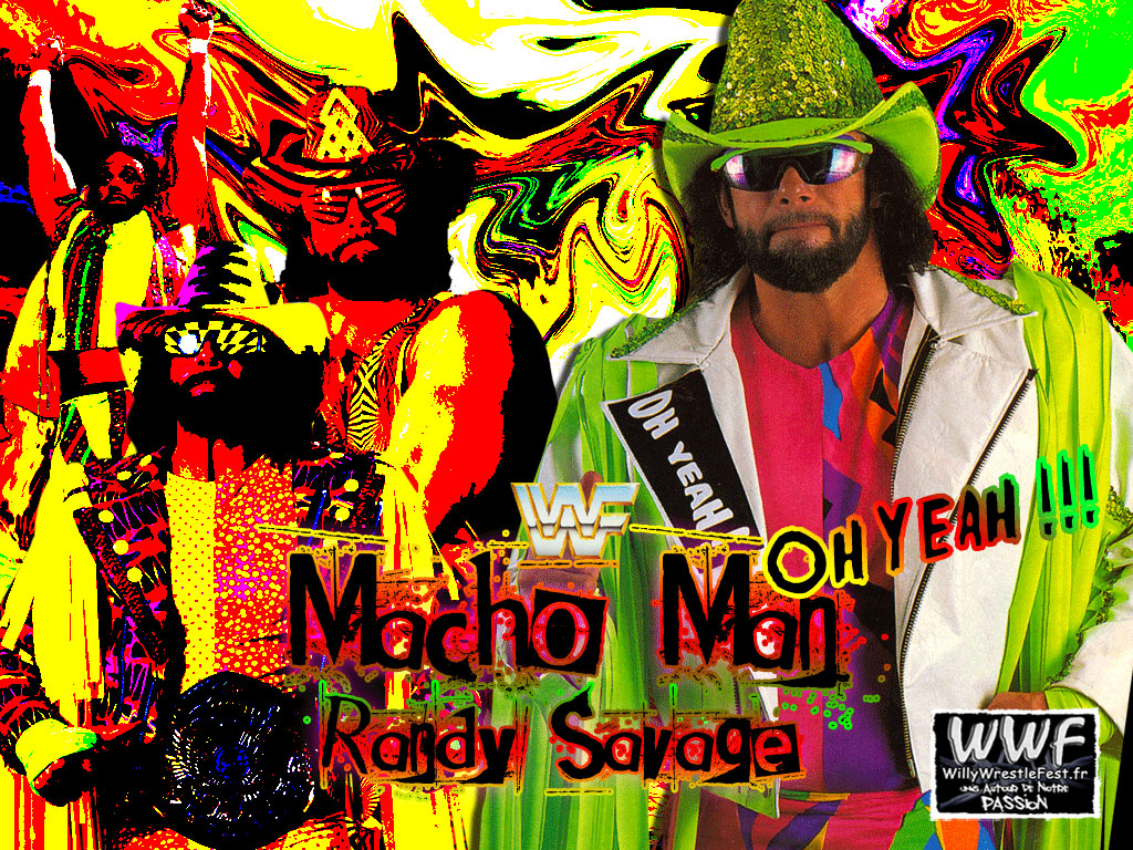 Free Download Macho Man Randy Savage Wallpaper 1024x768 For Your