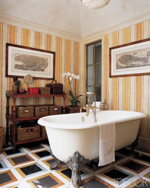 Wallpaper Bathroom Decor Interiors Bathrooms Beautiful Bathrooms 480x600