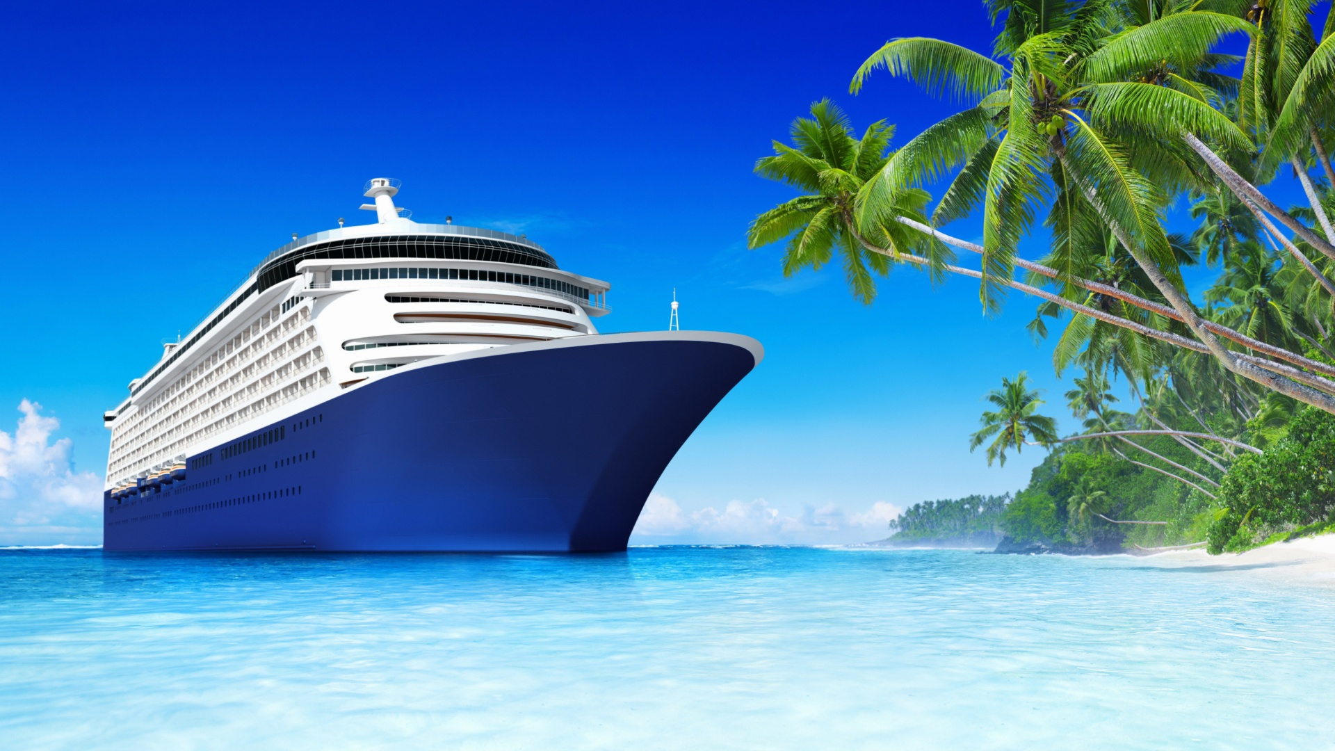 Royal Tropics Cruise Wallpaper for Desktop 1920x1080 Full HD 1920x1080
