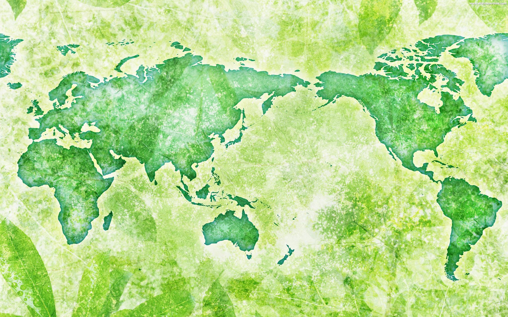 World map wallpaper wallpapersafari for Home wallpaper world map