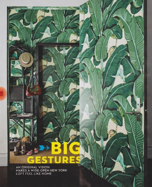 hinson martinique banana leaf wallpaper steven sclaroff house 520x638
