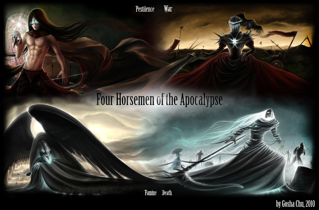 Four Horsemen of the Apocalypse by Procrust 1280x841