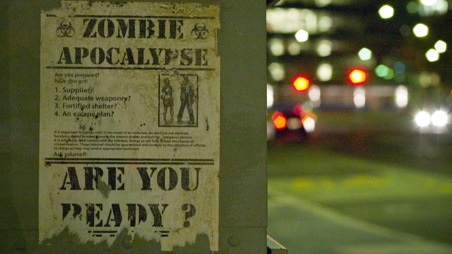 Download the Ready For Zombie Apoc Wallpaper Ready For Zombie 1920x1080