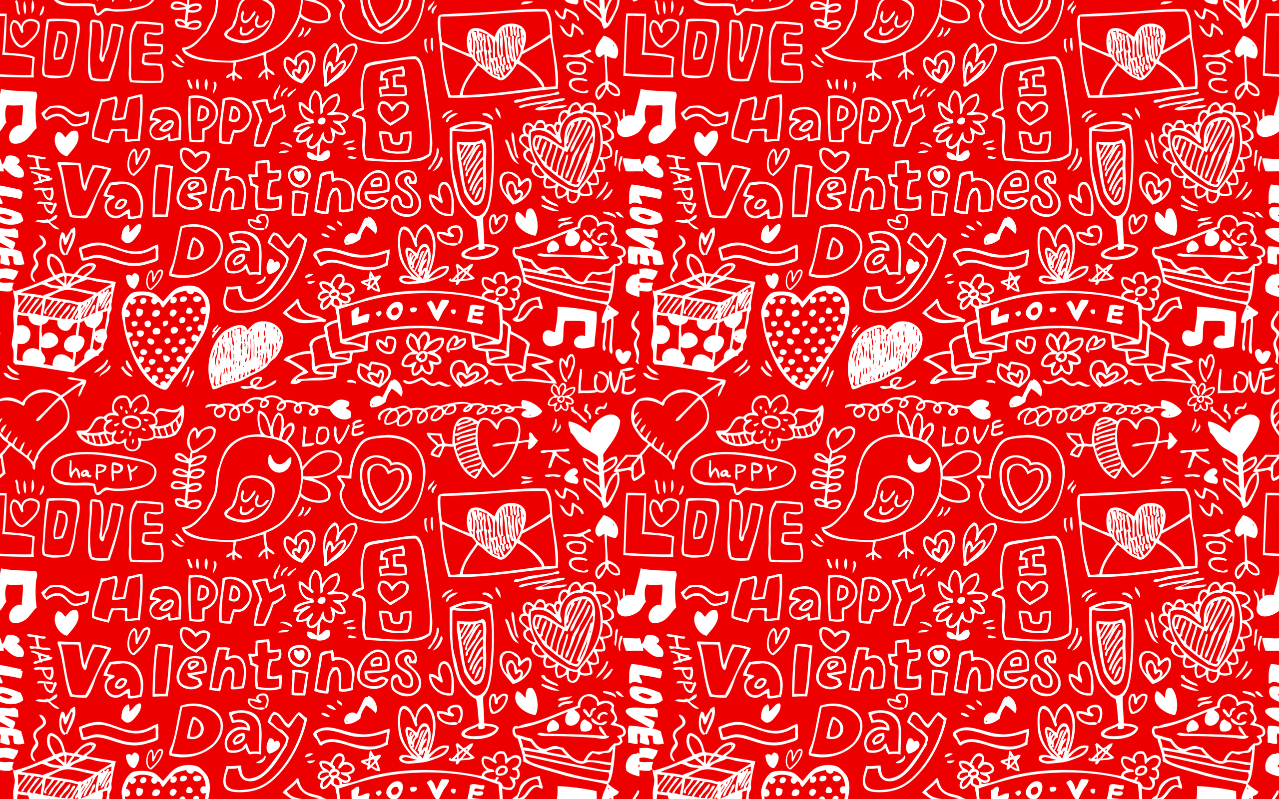 Happy Valentines Day widescreen wallpaper Wide WallpapersNET 2560x1600
