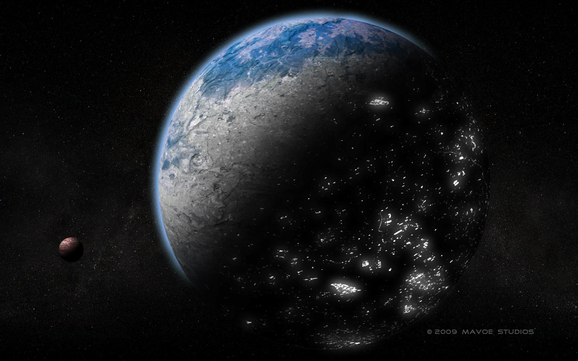 high resolution wallpapers alien ibood planet 1920x1200