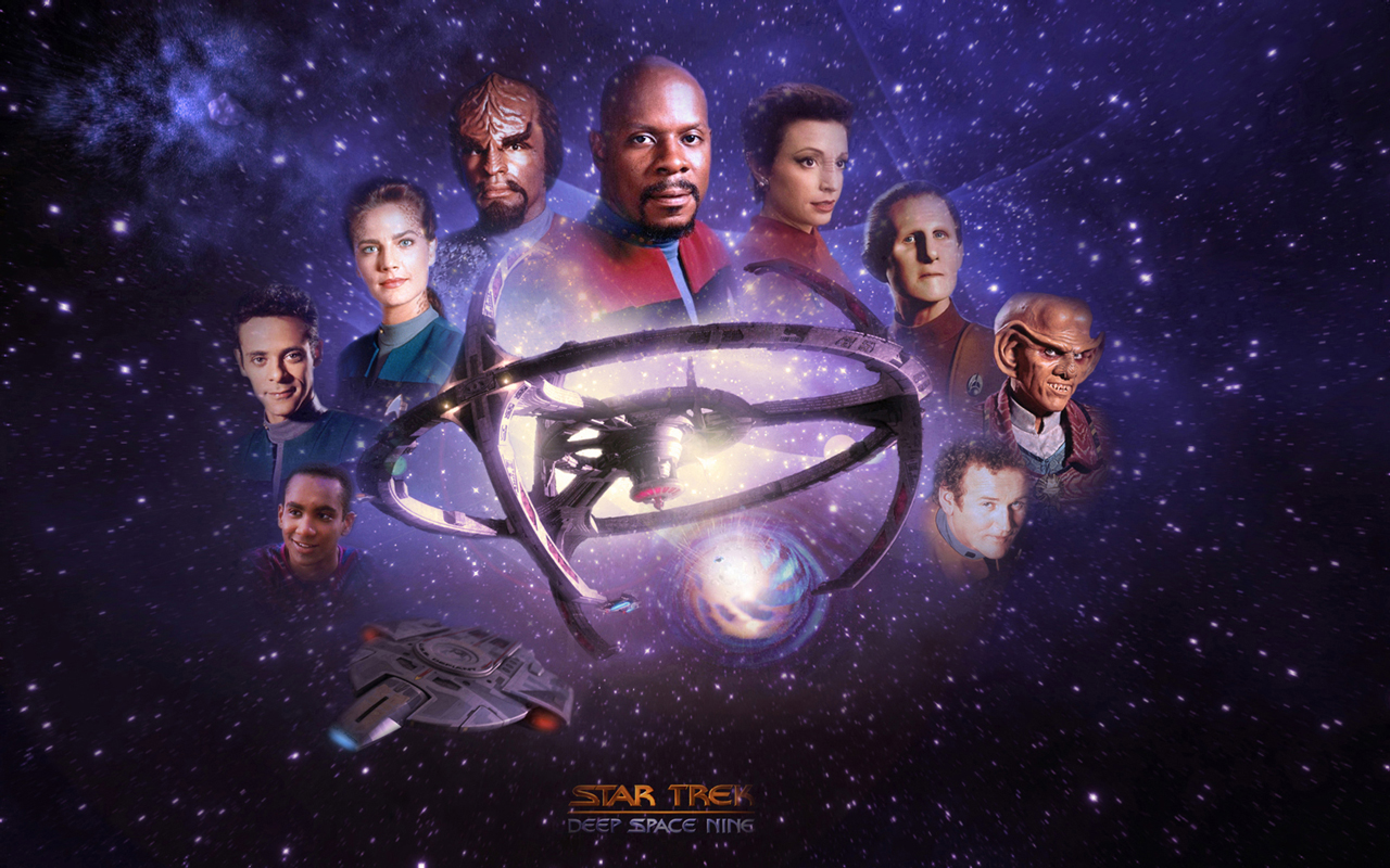 Star Trek Deep Space Nine Star Trek computer desktop 1280x800