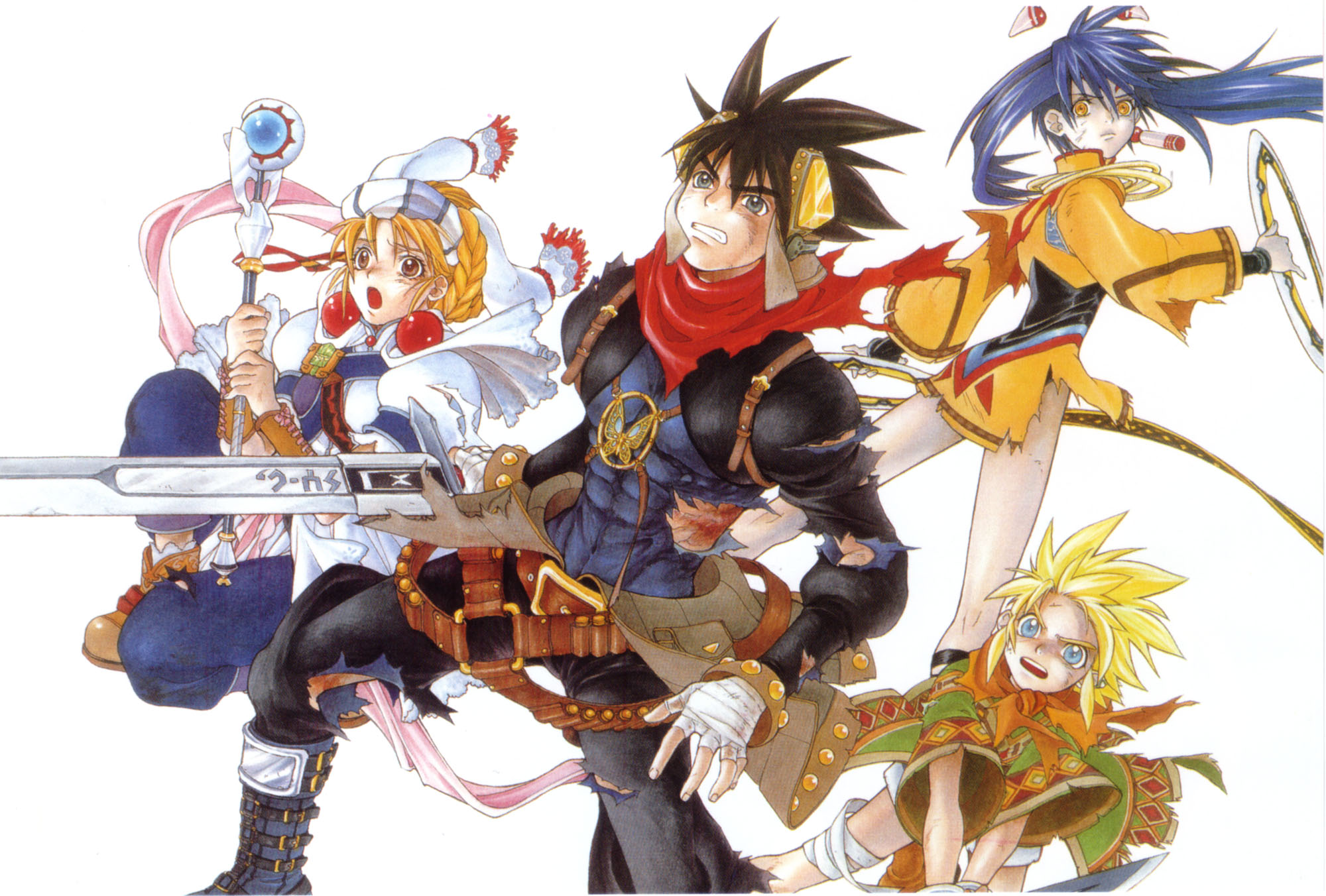 Grandia 2 is being remastered for PC Quantum Codec 2000x1352
