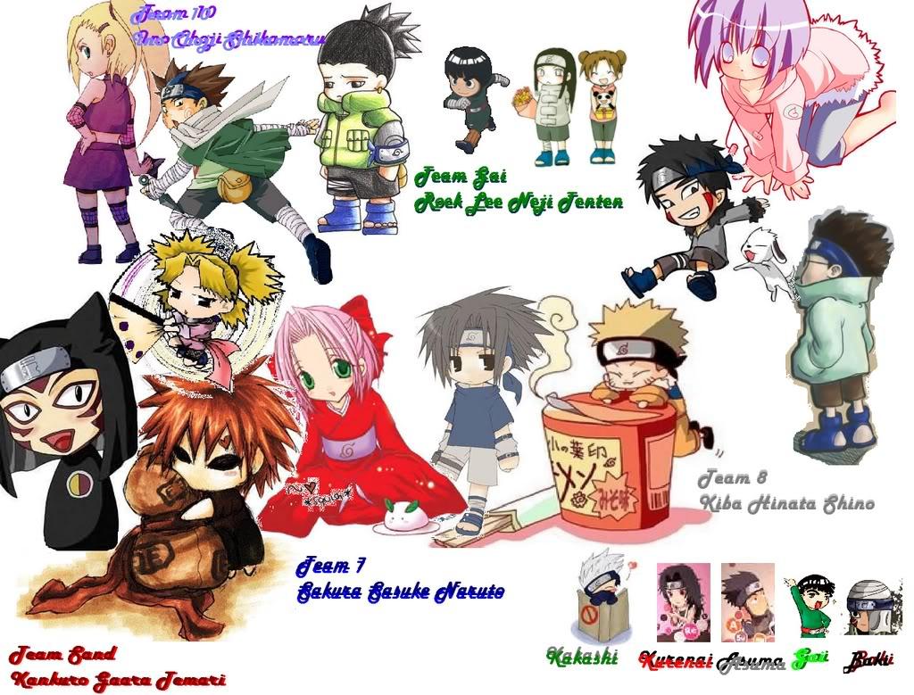 Naruto Chibi Wallpaper