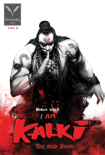 Indian Comic Books   I am Kalki Book 2 Wallpaper   Vimanika Comics UK 370x545