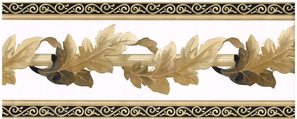 Crown Moulding Architectural Wallpaper Border Wall Decor eBay 1000x401