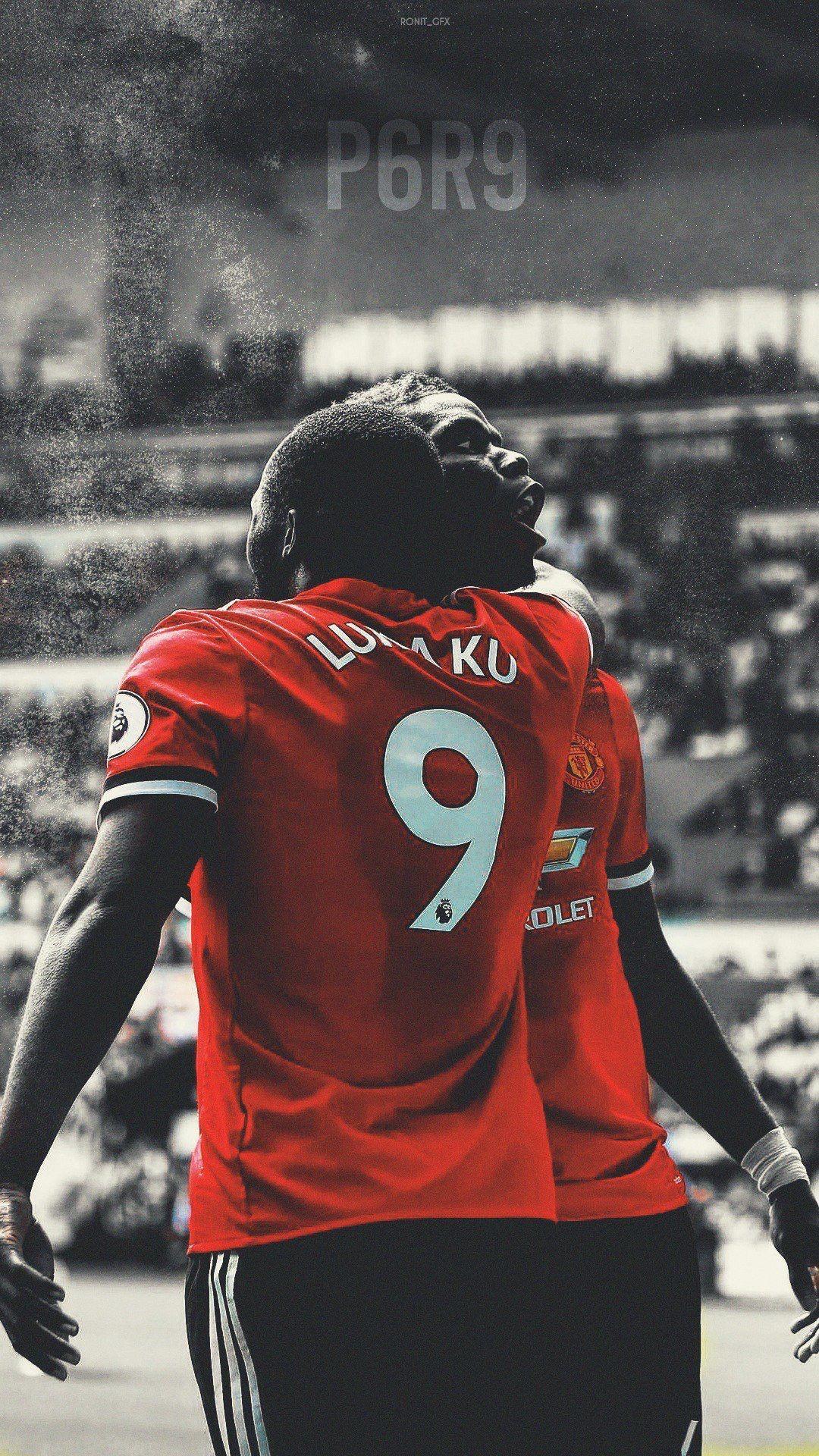 Lukaku Pogba Manchester United Manchester United 1080x1920