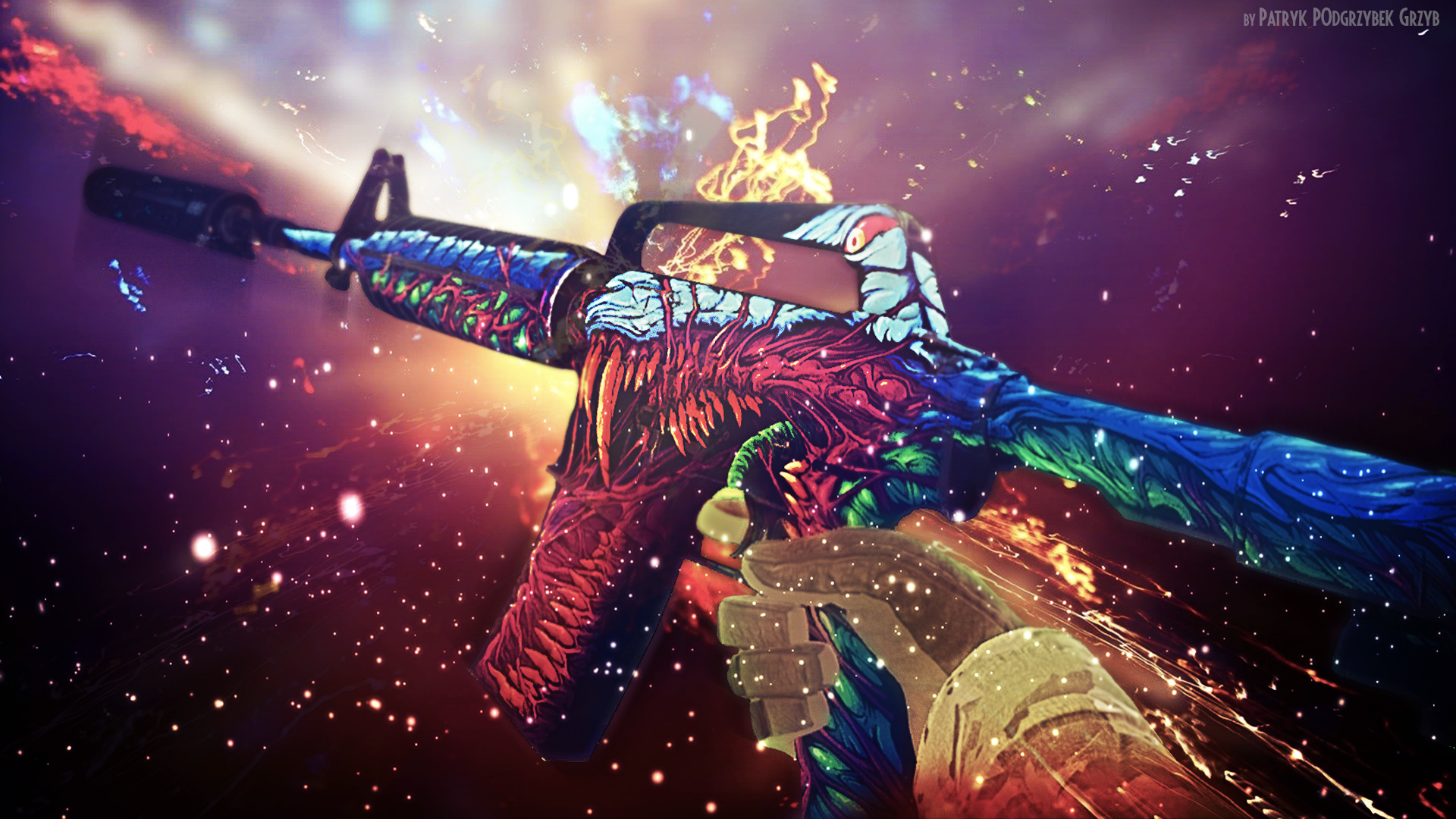 Csgo Hyper Beast Wallpaper Wallpapersafari