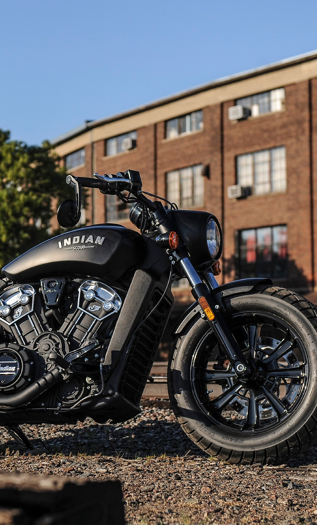 American Motorcycles Indian Scout Bobber 2018 Wallpaper   Indian 1280x2120