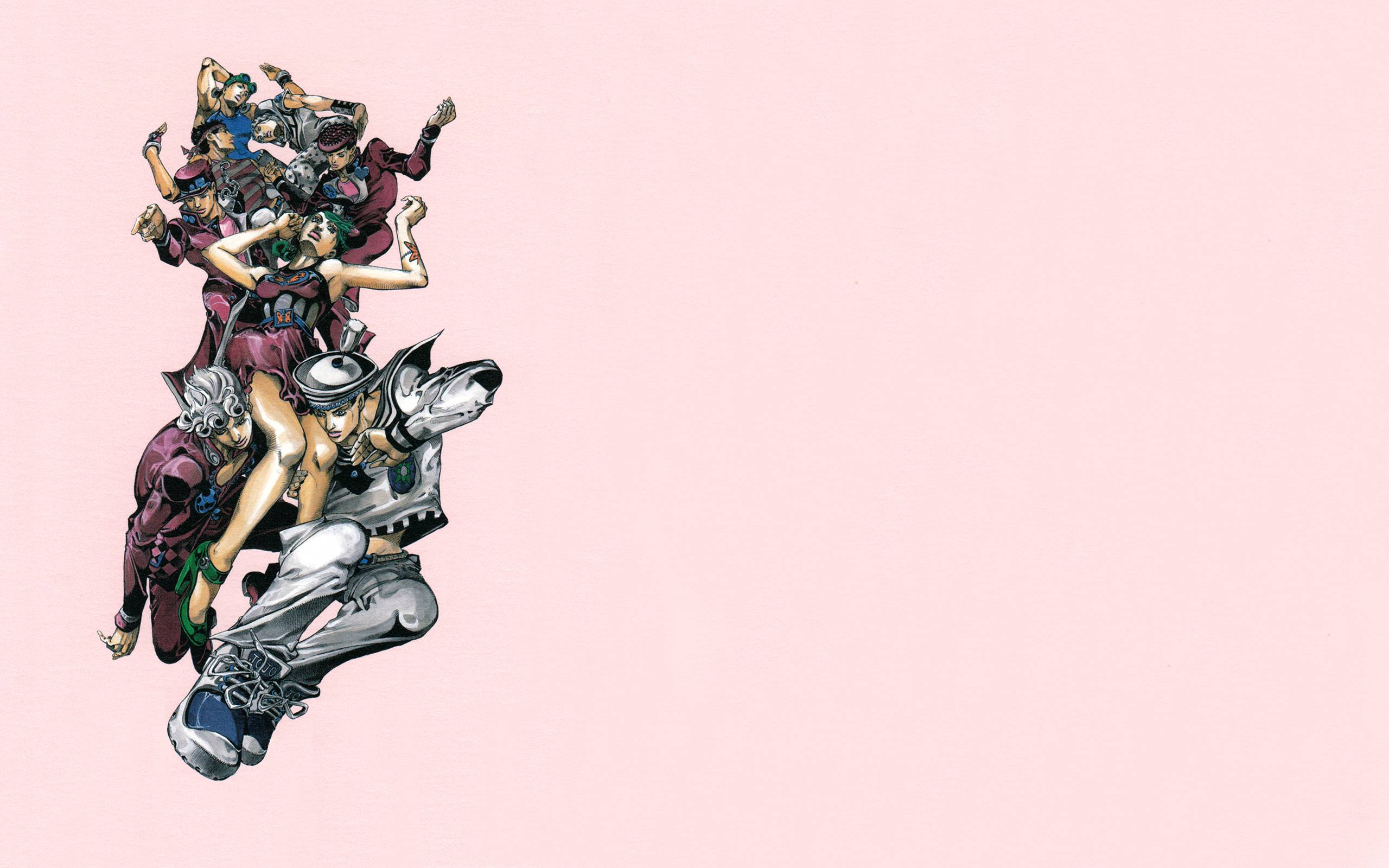 Fanart] Jojolion Wallpaper Dump Batch 8 StardustCrusaders 2560x1600